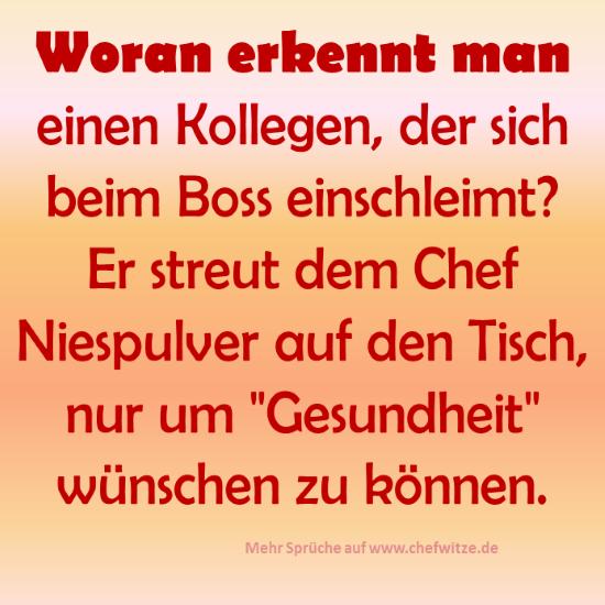 Spruchbild über Chefs